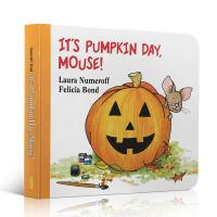 英文原版It's Pumpkin Day, Mouse! 小老鼠,南瓜节来啦!Halloween 万圣节节庆绘本mou