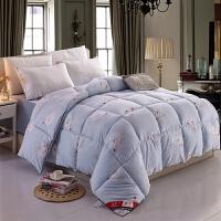 羽丝绒冬被加厚保暖太空被学生宿舍单人床厚被子双人1.8米2米6斤