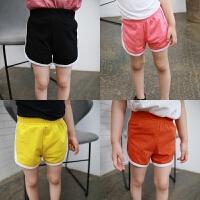 儿童男女童宝宝运动短裤 冰瓷棉热裤夏季沙滩裤