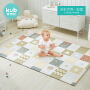 KUB可优比 PVC爬爬垫多彩世界 宝宝爬行垫加厚环保PVC爬爬垫儿童地垫游戏垫家用爬行垫