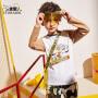 小虎宝儿男童长袖T恤潮童2020春装新款儿童纯棉打底衫中大童韩版
