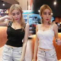 泰国潮牌2018夏季新款韩版时尚气质夜店性感吊带内搭打底上衣女装