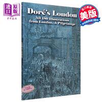 【中商原版】古斯塔夫多雷:伦敦插画集 英文原版 进口艺术画册 Doré's London: All 180 Illustrations from London