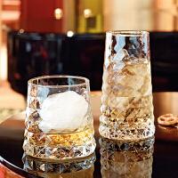 玻璃杯 威士忌杯饮料宝石创意果汁杯