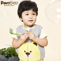 【3件2折 到手价:72】Pawinpaw卡通小熊童装夏款婴幼儿新款男女宝宝同款马甲