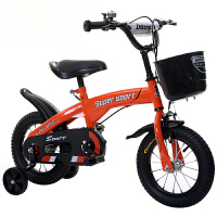儿童自行车14寸3-6岁男女孩童车12-16-18寸小孩子宝宝的单车