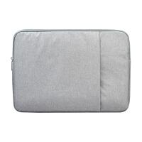 内胆包苹果内胆包12笔记本电脑保护套 毛毡13 15c小米手提包黑色ND0