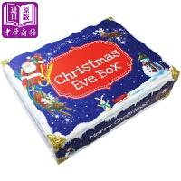 【中商原版】圣诞平安夜大礼盒 Christmas Eve Gift Box 含故事绘本 贴纸 信封 人形立纸板