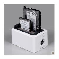 阿卡西斯BA-12US 2�P位3.5/2.5寸串口USB3.0硬�P座硬�P盒��C拷�