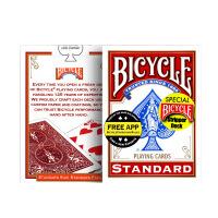 bicycle单车扑克牌纸牌魔术道具花切单车牌 魔术扑克