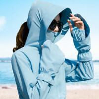 2018夏季新款骑车防晒衣女防紫外线韩版短款户外沙滩薄款外套开衫
