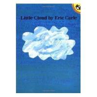 Little Cloud 英文原版《一片小云儿》艾瑞-卡尔(《好饿的毛毛虫》作者)