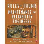 【预订】Rules of Thumb for Maintenance and Reliability