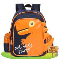 智高 ZG-8717 橘色 卡通恐龙 男童宝宝儿童书包 可爱卡通玩具双肩背包 幼儿园 当当自营