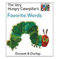 英文原版 The Very Hungry Caterpillar's Favorite Words 好饿的毛毛虫爱单词(