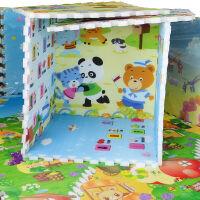 拼接式爬行垫2cm厚 婴儿游戏地垫 防潮垫 玩具垫 图案随机