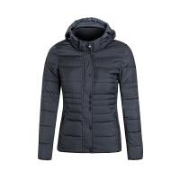 特步冬季新品时尚休闲女款棉服舒适保暖女款厚外套保暖防风棉服985428190441