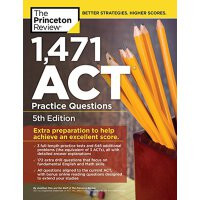 1,471 ACT Practice Questions, 5th Edition 1471个ACT问题第5版【英文原