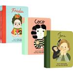 小小孩大梦想系列英文原版绘本 Little People Big Dreams 纸板书6册合售 儿童启蒙女孩励志 写给