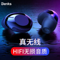 包邮支持礼品卡 Benks 蓝牙耳机 无线 耳塞式 迷你 小 隐形 运动 入耳式 双耳 男女通用 微型 华为 小米 苹