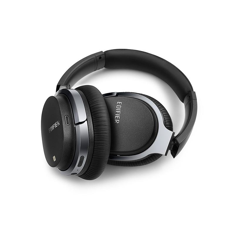 Edifier/漫步者 W860NB无线蓝牙耳机头戴式主动降噪耳机专业飞机消躁隔音耳麦立体声