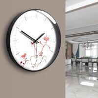 钟表创意挂钟客厅卧室个性静音中国风
