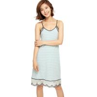 网易严选 设计师款 女式波点吊带睡裙