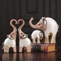 北欧风格大象摆件风水招财复古创意家居装饰房间的小饰品艺术品