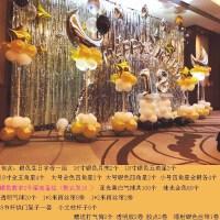 生日派对聚会浪漫布置装饰用品儿童主题铝膜气球雨丝帘套餐