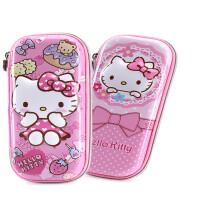 HelloKitty�和��P袋小�W生�P盒公主�U�P盒女童文具盒多功能文具袋