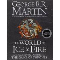 权力的游戏 冰与火之歌 英文原版 The World of Ice and Fire: The Untold Hist