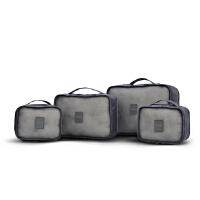 恒源祥(HYX)简约透气收纳四件套旅行洗漱包防水化妆包男女便携收纳袋收纳包套装大容量
