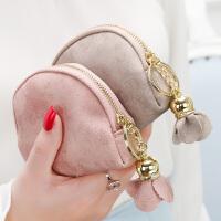 零钱包女迷你可爱小方包钱包简约个性卡包钥匙包