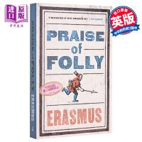 【中商原版】愚人颂 英文原版 Alma Classics:Praise of Folly 外国文学 Desideriu
