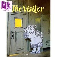 【中商原版】Antje Damm:来访者 The Visitor 莱比锡书展儿童选择奖 尼默尔兰图画书奖 亲子绘本 友情