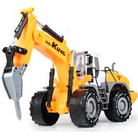 儿童玩具惯性工程车耐摔王挖土机钻地机铲土车压路车回力汽车模型