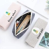 优湃 多肉时光文具盒女笔袋韩国 简约女生小清文具袋可爱铅笔袋