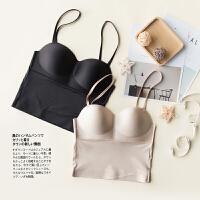 2018春秋新品定制款女士内衣一体塑身衣收腹美背文胸配备两幅肩带