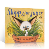 英文原版绘本 Skippyjon Jones 小剑侠跳跳周 儿童英语启蒙辅导阅读图画故事读物 培养宝宝兴趣可爱卡通形象