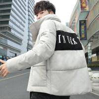 2018冬季新款棉衣男士外套韩版潮流加厚短款学生羽绒冬装棉袄