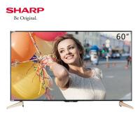 夏普(SHARP) LCD-60TX7008A 60英寸语音遥控器4K高清网络智能超高清液晶电视机