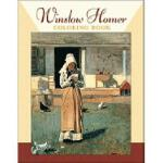 【预订】Winslow Homer Coloring Book