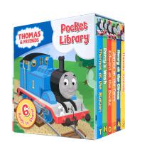 【全店300减100】英文原版 Thomas and Friends Pocket Library 托马斯与朋友小小图书