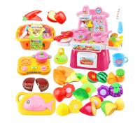 切切乐玩具男女孩切切看过家家厨房玩具套装儿童切水果蔬菜
