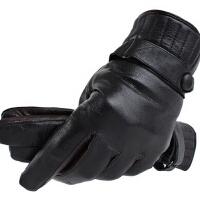 男冬天保暖加厚真皮手套男士羊皮手套时尚山羊皮手套潮