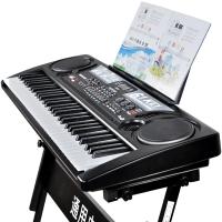 儿童电子琴儿童教学宝宝玩具小钢琴带话筒初学入门61键