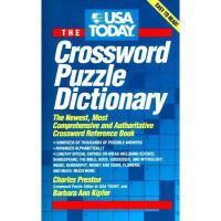【预订】USA Today Crossword Puzzle Dictionary: The Newest