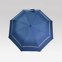 2018新款雨伞太阳伞遮阳伞折叠晴雨伞伞个性双层高尔夫折叠伞创意超大晴雨两用伞 27寸
