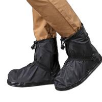 便携式防水鞋套旅行用品 短筒雨鞋套 男女士通用雨天防滑防雨鞋套加厚耐磨底雨靴套