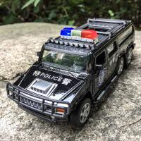 救护车玩具汽车模型120合金车模型110警车男孩女孩儿童小汽车